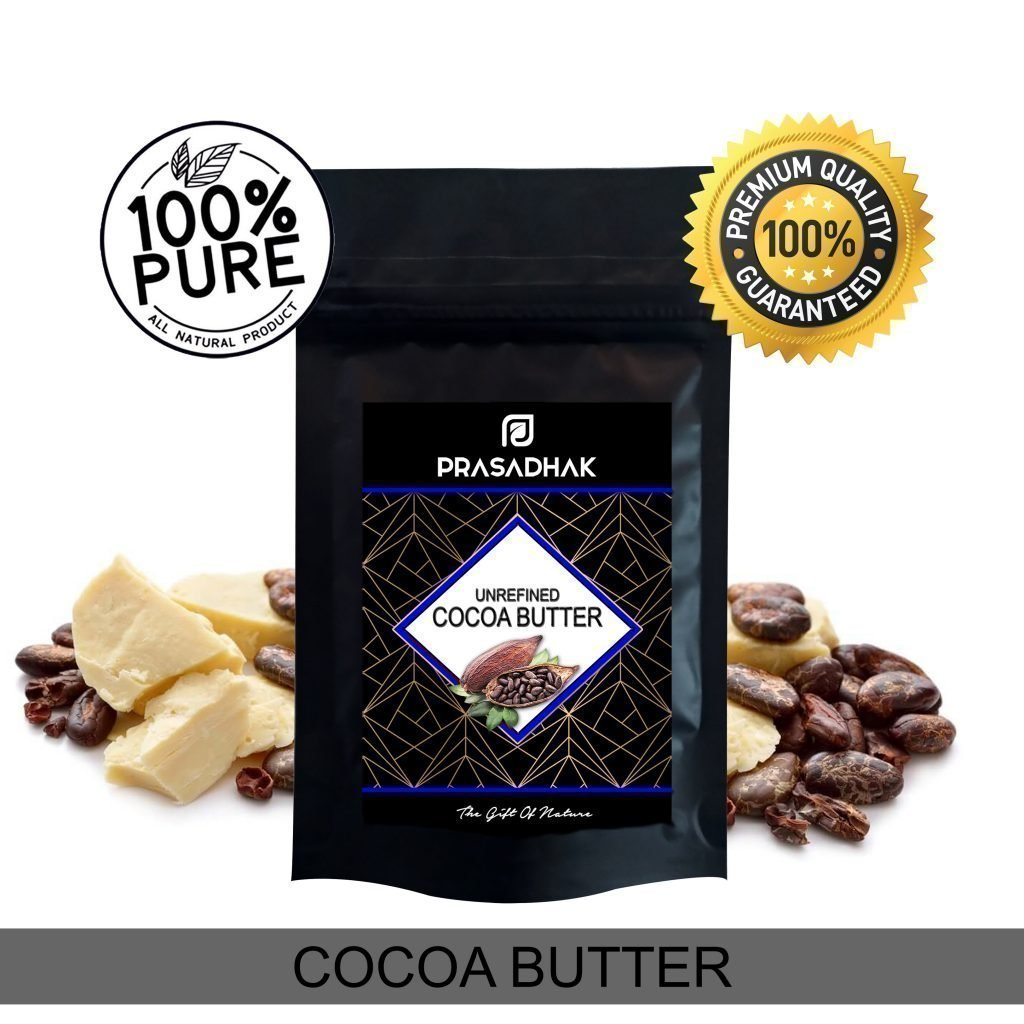 Unrefined cocoa butter