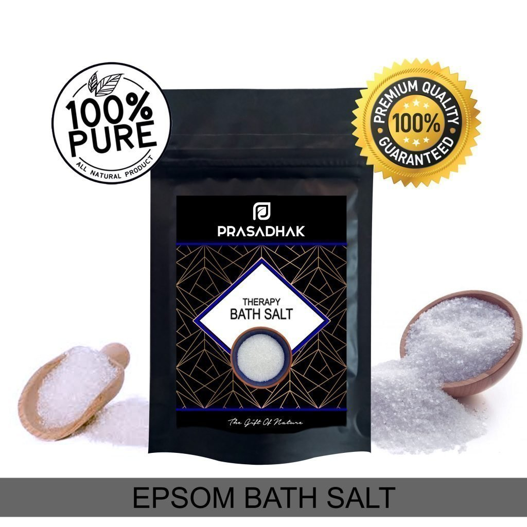 Raw Epsom Bath Salts
