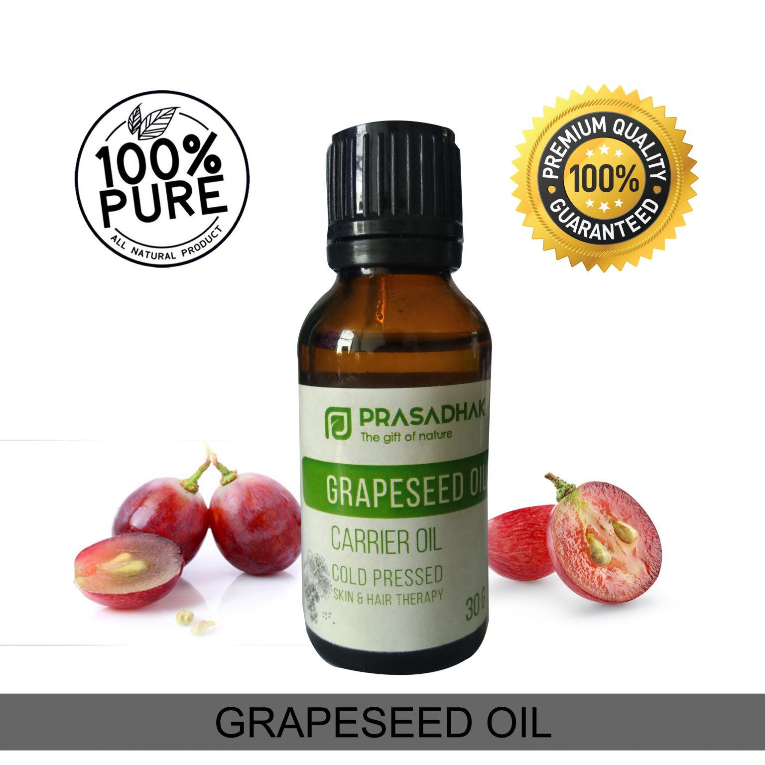 Cold-pressed Grapeseed Oil