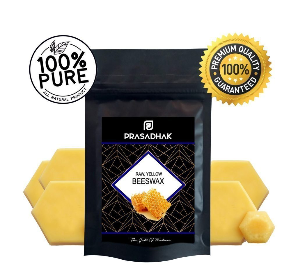 Unrefined Natural Beeswax - Yellow