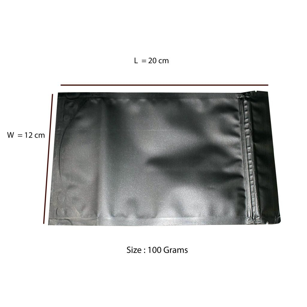 Black Matte Stand-up pouch