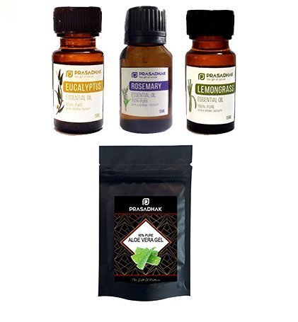Corona-virus Prevention Set of 3 Essential Oils + FREE ALOE VERA GEL